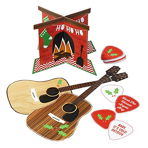 Talking Tables Christmas Entertainment Hum and Strum Air Guitar Party Game, Multicolor by Talking Tables