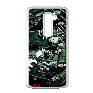 LG G2 phone cases White Slipknot cell phone cases Beautiful gift YTRE9348591