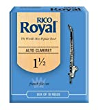 Royal by D\'Addario Alto Clarinet Reeds, Strength 1.5, 10-pack