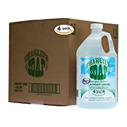 Charlie's Soap - Fragrance Free Laundry Liquid - 160 Loads (Four 160-load Bottles, 640 Total Loads)