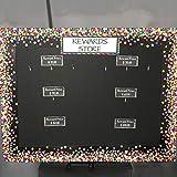Confetti Straight Border Trim for Classroom