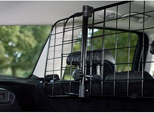 UKB4C Citroen C4 Picasso 2013-2017 Car Headrest Black Mesh Dog Guard