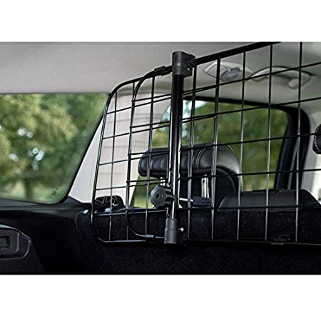 UKB4C Jaguar F-Pace 2015 onwards Car Black Tube Dog Guard