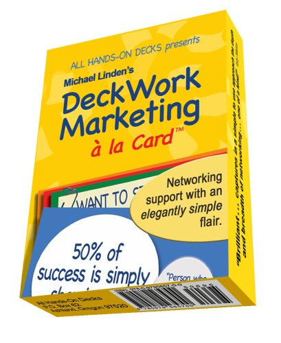 DECKWORK MARKETING A LA CARD