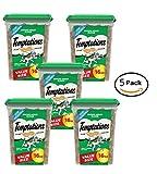 Pack of 5 - Temptations Cat Treats 16 oz. - 80 oz total (Seafood Medly)