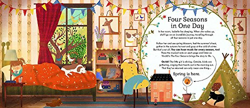 The Story Orchestra: Four Seasons in One Day: Press the note to hear Vivaldi's music by Frances Lincoln Children s Bks (Image #2)