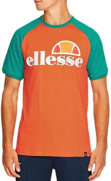 Ellesse Cassina Camiseta Hombre Naranja: Amazon.es: Ropa y accesorios