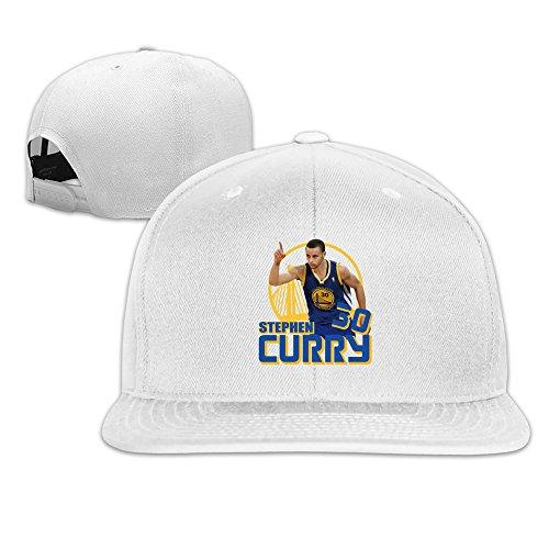 tom-cool-unisex-warriors-stephen-curry-30-baseball-hat-white