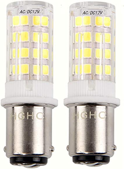 Ba15d LED Lámpara 5W AC/DC 12V, Equivalente de bombilla halógena ...