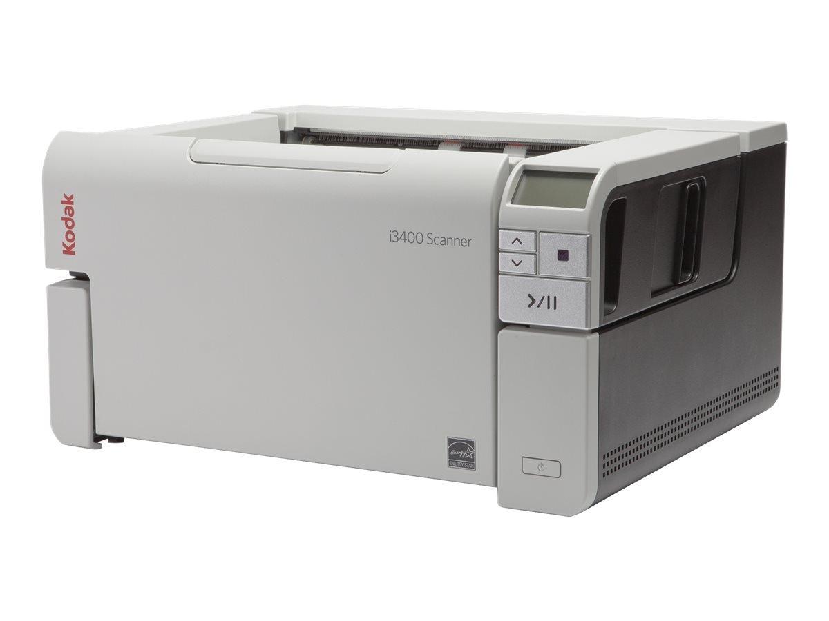 Kodak QV9720 i3400 Document Scanner - Desktop - Black/Gray