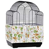 """Bonaweite Bird Cage Skirt with adjustable Draw string Seed Catcher (Circumference:157""""High11.8"""")"""