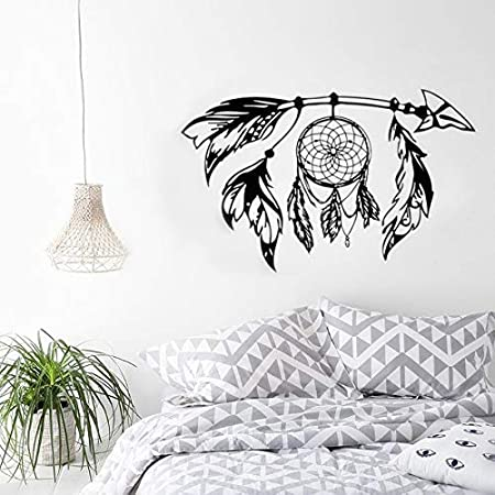Dream Catcher Flying Feathers Wall Sticker Symbol Home Decor Bedroom New