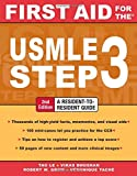 img - for First Aid for the USMLE Step 3, Second Edition (First Aid USMLE) book / textbook / text book