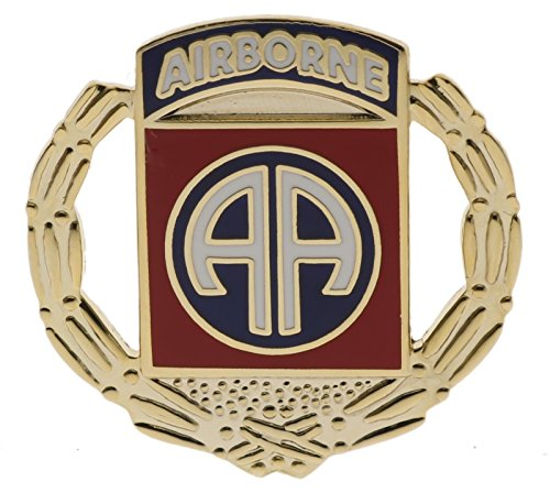 (Army 82nd Airborne Wreath 1 1/8 inch Hat Lapel Pin H15839D177 )