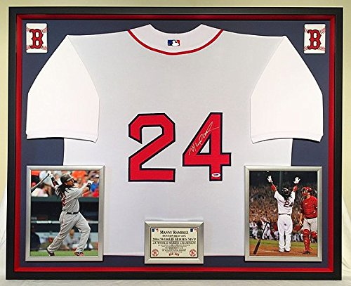 Ramirez Autographed Signature Boston Red Sox Jersey - PSA/DNA Certified ()