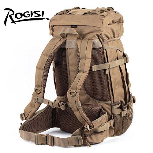 HYSXM Mountaineering Bag 45L Outdoor Freizeitaktivitäten leichtes Wandern Bergsteigen floding Paket Wasserdicht Großes Fassungsvermögen Haut Taschen