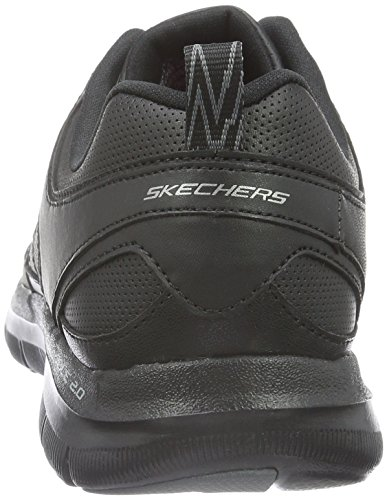 Skechers Flex Appeal 2.0 Good Timing, Women's Low-Top Sneakers Black (Black/Black)