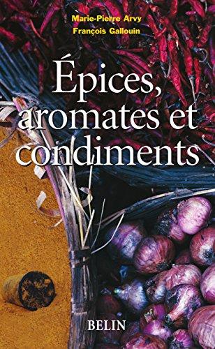 epices aromates et condiments botanique