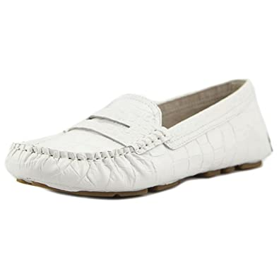 Sam Edelman Women's Filly Driver Loafers, Bright White, 5.5 B(M) US
