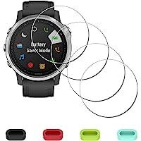 Displaybescherming beschermfolie voor Garmin Fenix 6S / 6S Pro / 6S saffier horloge + 4-delige bescherming voor…