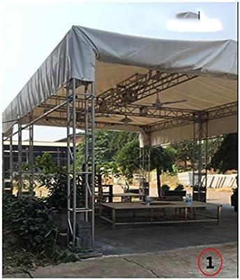 Tarpaulin Lona impermeabilizante a Prueba de Lluvia Protector contra rasgadura de Camiones Lluvia Cubierta Lienzo Lona Cuchillo raspador PVC Grueso (Color : Gray, Size : 2m×1.5m): Amazon.es: Hogar