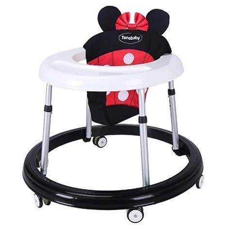 G-AVERIL andador de bebé de altura ajustable, plegable, para ...