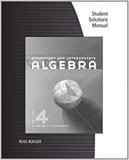 Elementary and intermediate algebra available titles cengagenow student solutions manual for mckeagues elementary and intermediate algebra fandeluxe Choice Image