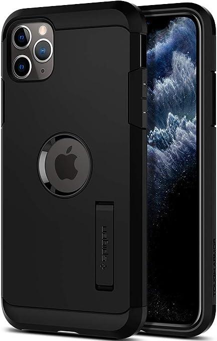 Spigen iPhone 11 Rugged Armor noir mat Accessoire iPhone