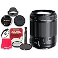 Tamron 18-200mm f/3.5-6.3 Di II VC Lens for Canon EF with Elite Optics Commander Pro HD Series Ultra-Violet Protector UV Filter & Circular Polarizer CPL Multi-Coated Filter - International Version
