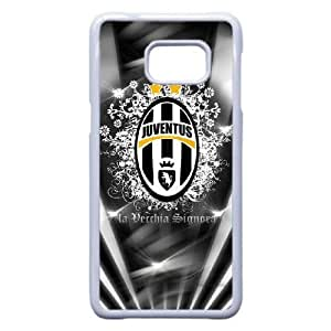 Protection Cover Neilr Samsung Galaxy S6 Edge Plus Cell Phone Case White Juventus Personalized Durable Cases