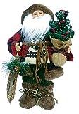 Santa's Workshop Woodsman with Canoe Figurine, 16''