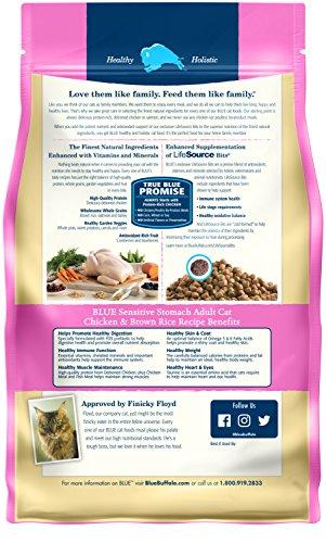 Blue Dry Buffalo Sensitive Stomach Natural Adult Cat Food