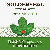 Nature's Way Premium Herbal Goldenseal Herb, 800 mg per serving, 100 Capsules