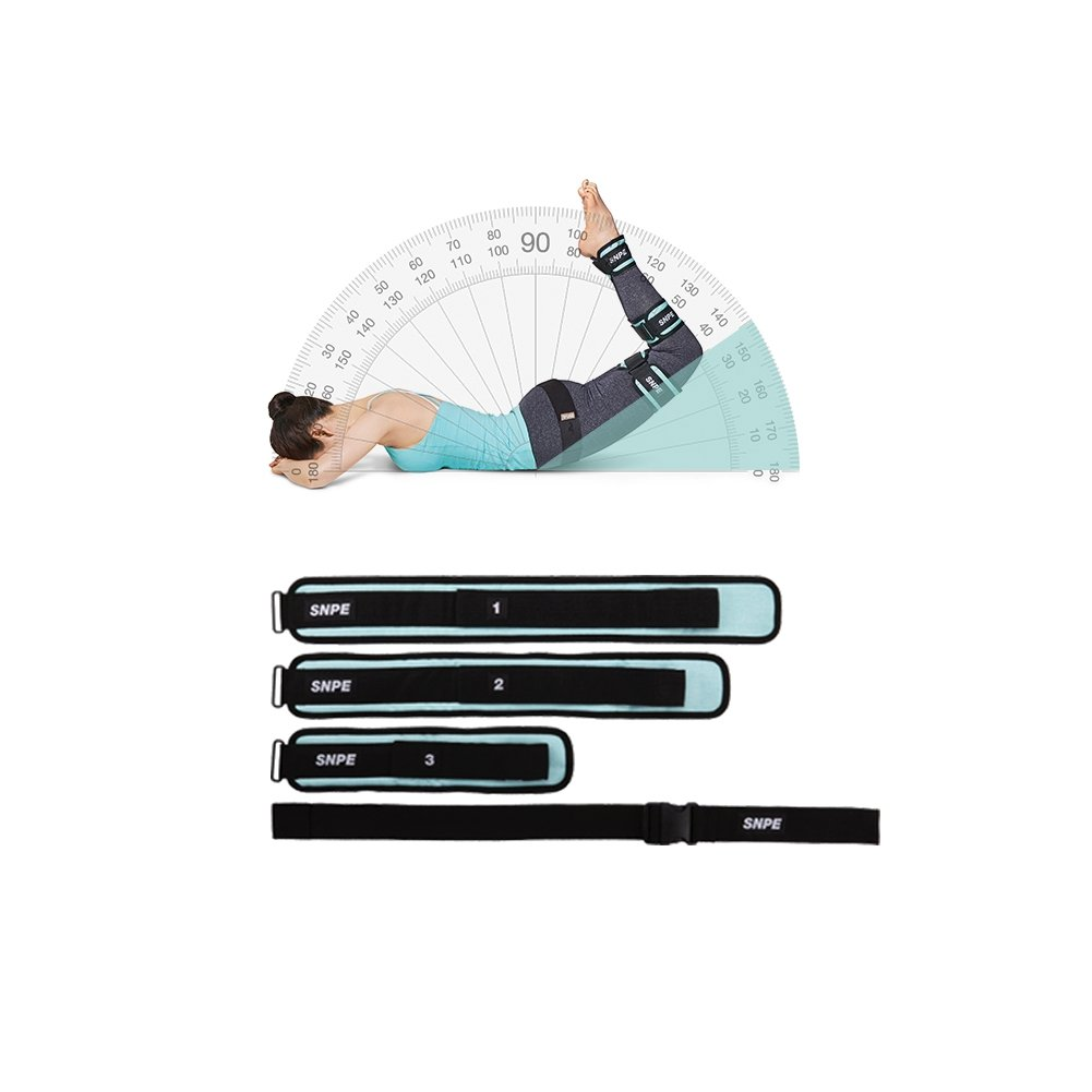 SNPE EQFBBLT00BP Self Nature Posture Exercise Leg Corrector Belt Black Mint by SNPE