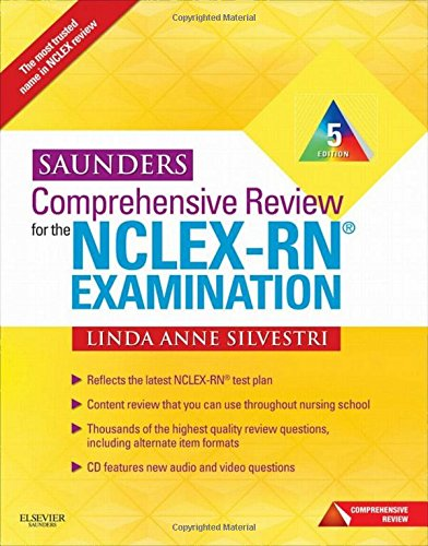Saunders Comprehensive Review for the NCLEX-RN Examination, 5th - Reviews Pinecone