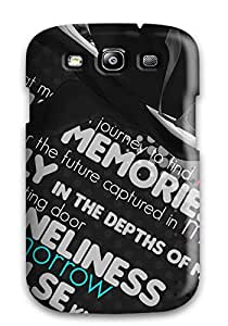 Excellent Galaxy S3 Case Tpu Cover Back Skin Protector Anime Anime Boys Selective Coloring Miharu Rokujou