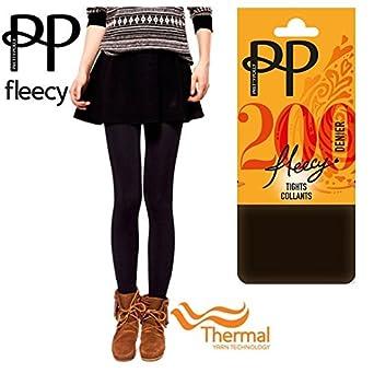 2e0e8330d Pretty Polly® 200 Denier Thermal Fleece Fleecy Opaque Extremely Soft   Cosy  Tights Collant -
