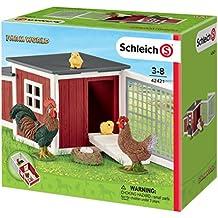 Schleich Chicken Coop Play Set (8 Piece)