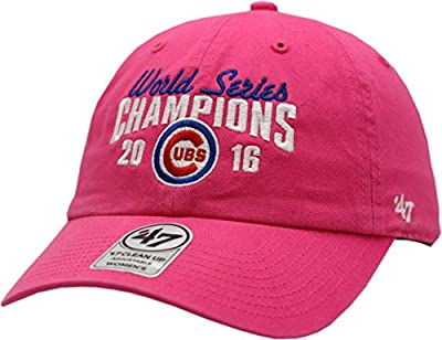 Chicago Cubs 2016 World Series Champions Hat Ladies Clean Up 13180