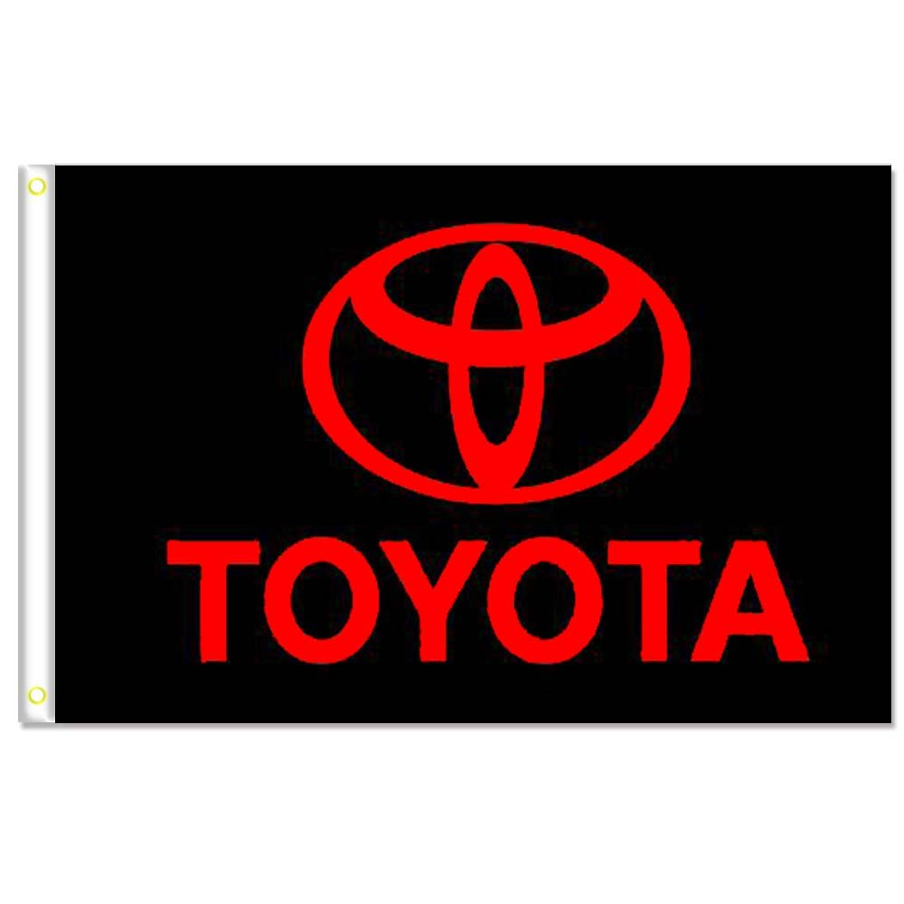 Home King Toyota Flag Banner 3X5FT 100% Polyester