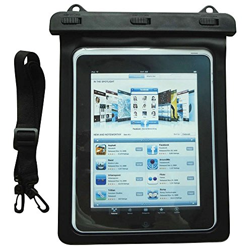 Happy Hours - Universal Waterproof Case for Tablet Up to 10 Inch / Outdoor Sports IPX8 Dry Bag for iPad Pro 9.7, iPad Air / Air 2, iPad 2 / - Gucci Phone Number