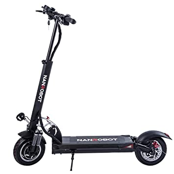 Amazon.com: NANROBOT D5 + Powerful Folding Electric Scooter ...