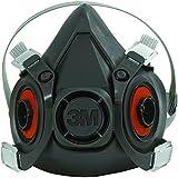 Ship Now Supply SNOCS6200 3M 6200 Half Face Respirator - Medium, black (Pack of 24)