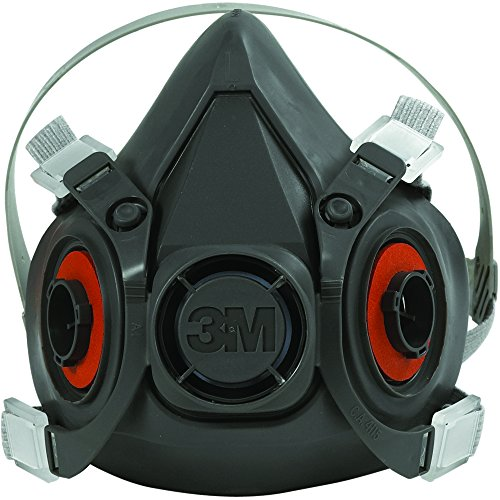 Ship Now Supply SNOCS6200 3M 6200 Half Face Respirator - Medium, black (Pack of 24) by Ship Now Supply
