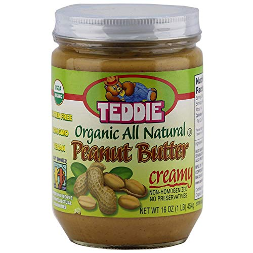 Teddie Peanut Butter with touch of sea salt,16 oz