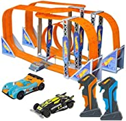 Pista Hot Wheels Track Set Zero Gravity Slot Car 1300cm Multikids - BR070