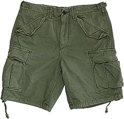 Polo Ralph Lauren Men's Relaxed-Fit Ripstop Cargo Shorts 30 Green