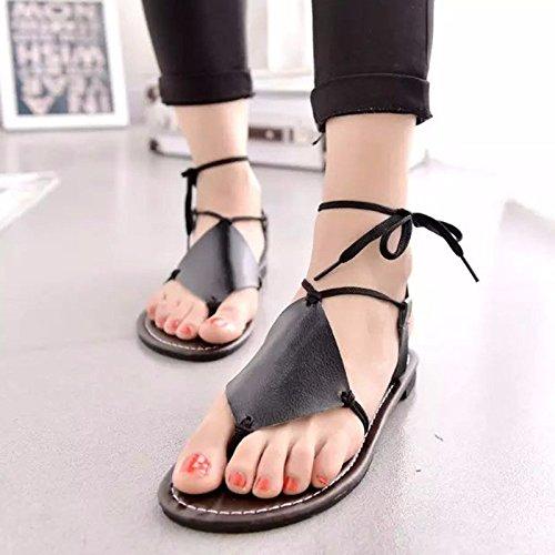 zapatos verano XIAOGEGE 37 mujer calzado nuevo UE salvaje plano Eu 38 El de ExEwpYqng