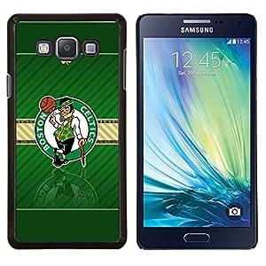 Qstar Arte & diseño plástico duro Fundas Cover Cubre Hard Case Cover para Samsung Galaxy A7 A7000 (Boston Celtic Baloncesto)