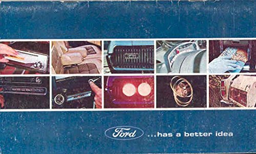 1967 Ford Stockholder Brochure Lincoln Mercury Mustang from Ford
